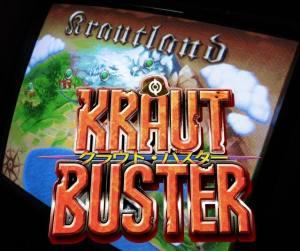 Kraut Buster arcade game