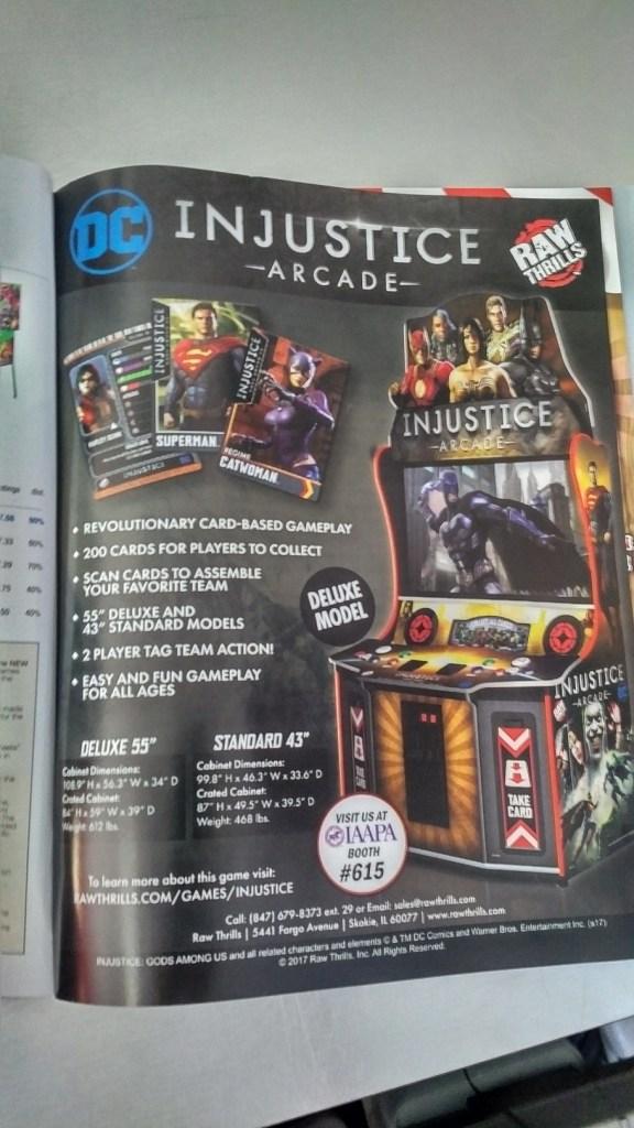 Injustice Arcade IAAPA ad