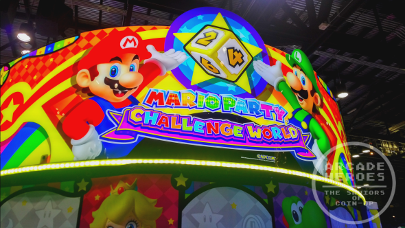 Mario Party Challenge World marquee