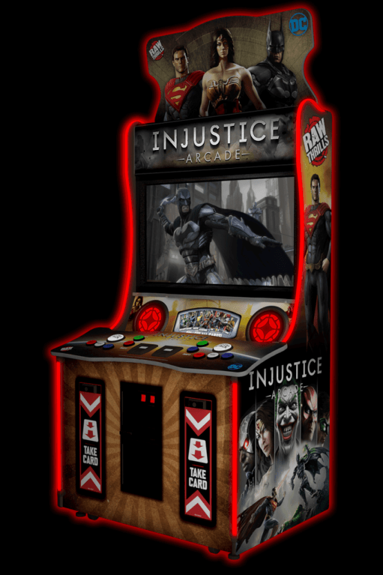 Injustice Arcade standard model by Raw Thrills