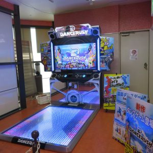 Dance Rush location test in Osaka, Japan (Konami)