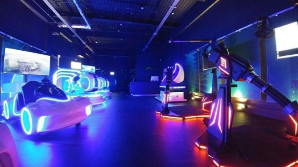 VR Star UK arcade