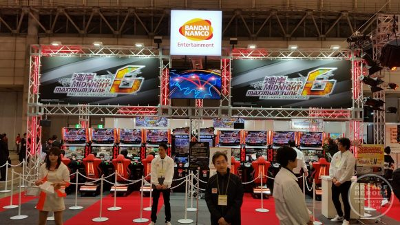 Wangan Midnight Maximum Tune 6 Booth at JAEPO 2018