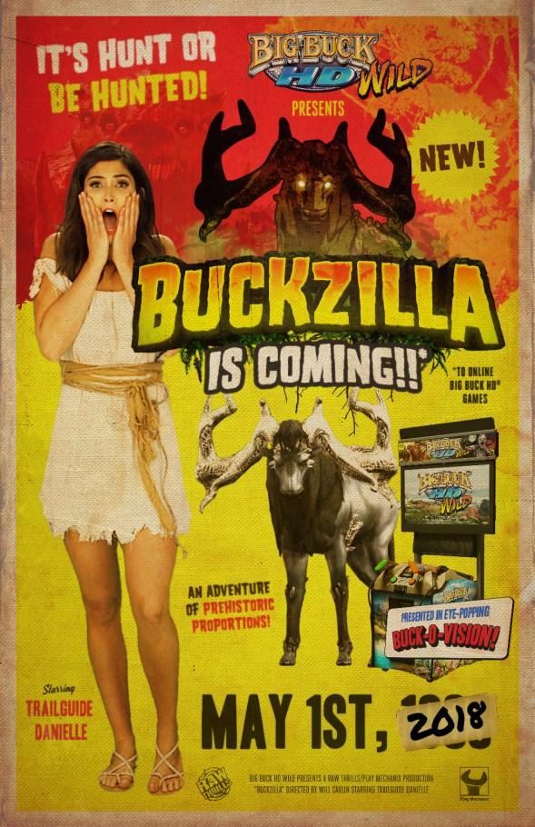 Buckzilla Poster, Big Buck Wild