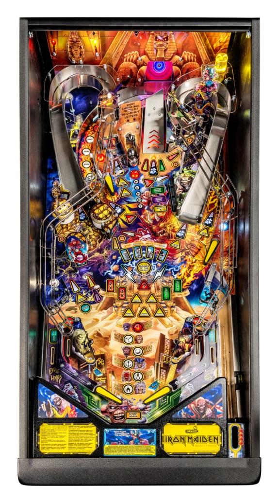 Iron Maiden Pro playfield, Stern Pinball