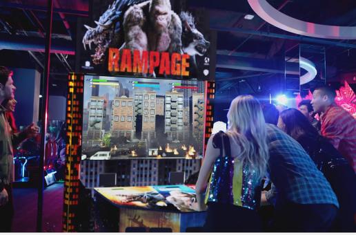 Rampage Arcade 2018 Gets A Teaser Trailer