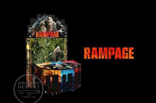 Rampage Returns To Arcades As A Dave & Busters Exclusive