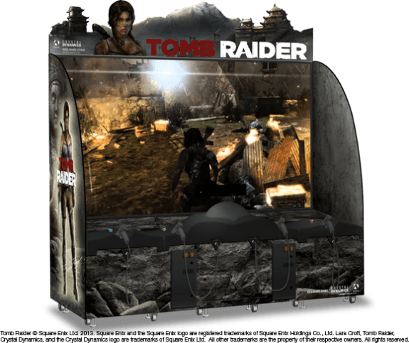 Tomb Raider Arcade by Adrenaline Amusements