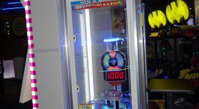 WHAM-O BLAST Redemption game back on location at Dave & Busters Buffalo NY