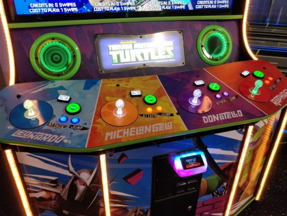 TMNT final control panel