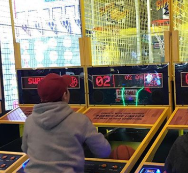 Connect 4 Basketball Game Spotted On Test