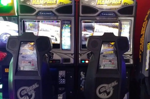 Newsbytes: Redline Rampage; Cosmotrons Map Contest; NEO GEO Mini; Factory Video Updates; Pinball