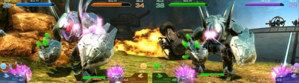 Halo Fireteam Raven Arcade screenshot