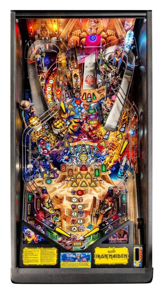 Iron Maiden Premium playfield