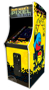 Pac-Man's Pixel Bash arcade machine by Bandai Namco Amusements