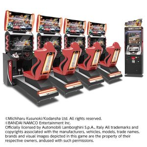 Wangan Midnight Maximum Tune 6 Asian style cabinet by Bandai Namco Amusements
