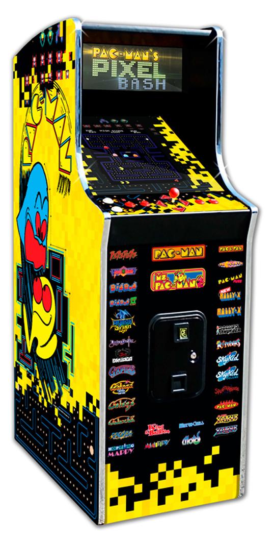 Pac-Man's Pixel Bash cabaret model, Bandai Namco Amusements