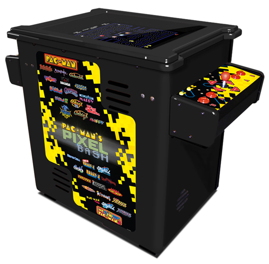 Pac-Man's Pixel Bash cocktail black, Bandai Namco Amusements