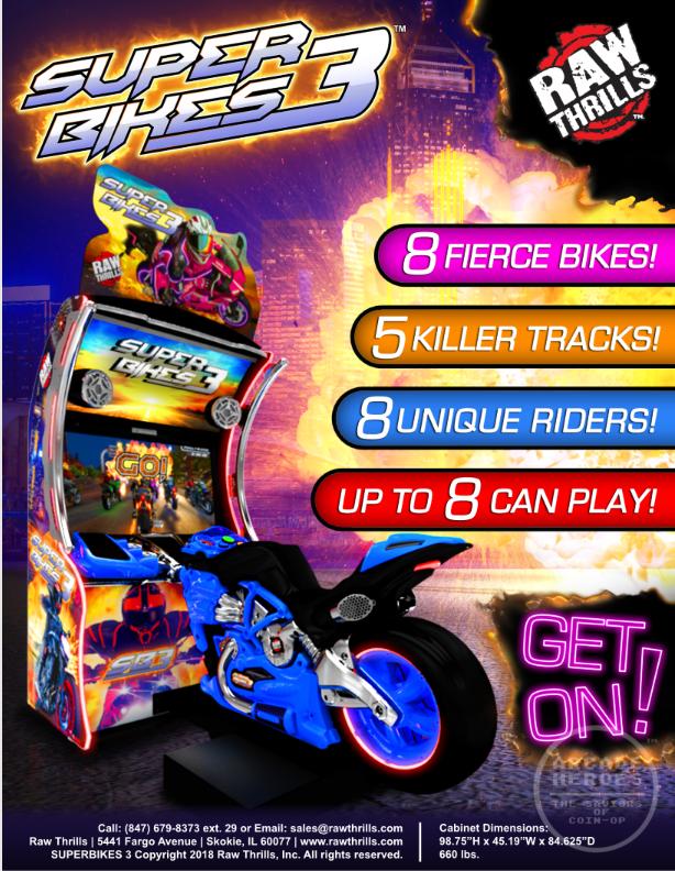 Super Bikes 3 flyer