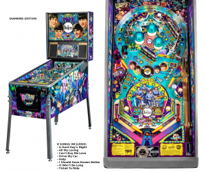 The Beatles Diamond Pinball Machine