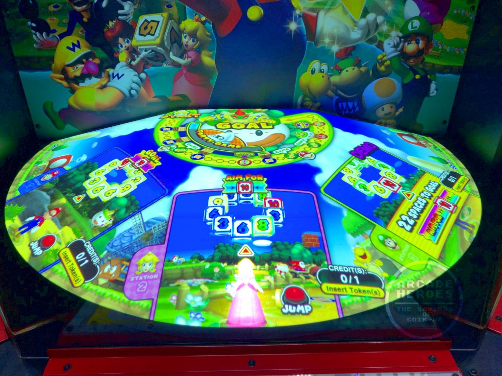 Mario Party Challenge World by Capcom/Nintendo/Raw Thrills