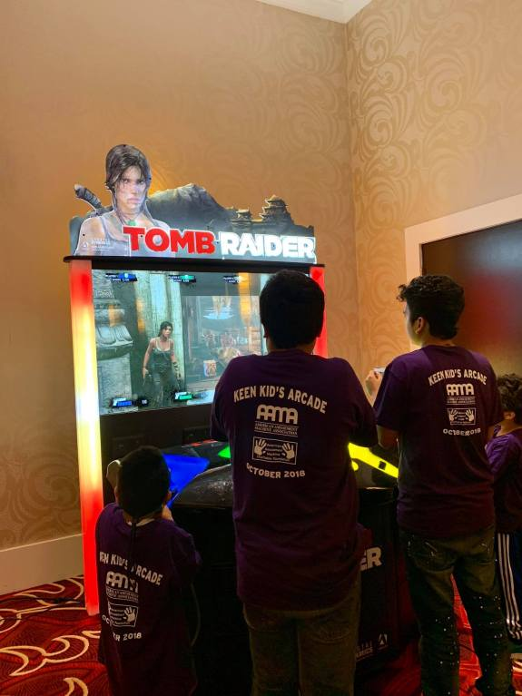 """Tomb Raider 65"""" in action"""