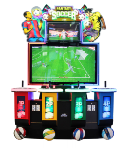 Fantasy Soccer arcade game by UNIS