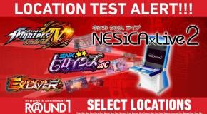 Taito To Begin Testing NESiCAxLive 2 Exclusively At Round1USA