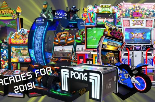 Shipping & Release Updates: Pump It Up XX; ATV Slam; PIU-XX; Fantasy Soccer; Atari PONG Table Coin-op & More