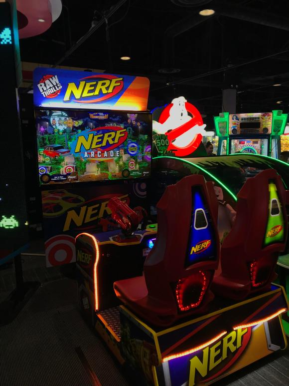 Nerf Arcade location test