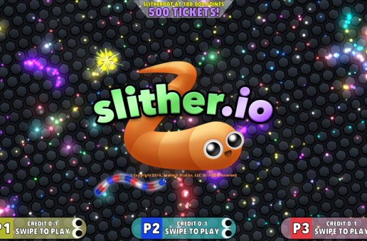 Raw Thrills Announces The Arrival Of Slither.io Arcade
