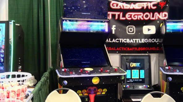 Galactic Battleground at Amusement Expo 2019