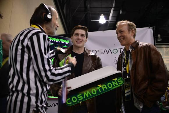 Walter Day (left), Karl Gebhard (center), Eugene Jarvis (right)