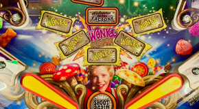 Jersey Jack Pinball Begins Shipping Willy Wonka & The Chocolate Factory Games