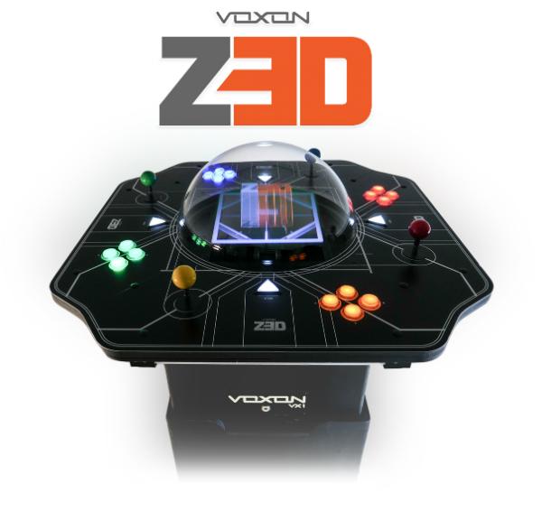 Arcade Heroes Voxon Photonics Releases The Z3D Volumetric