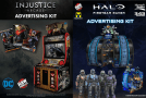 Raw Thrills Launches Advertising Kits For Injustice & Halo