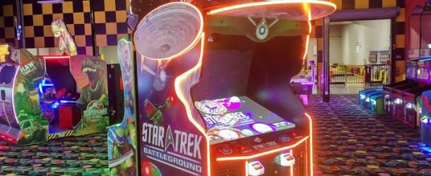 Spotted on Test: Star Trek Battleground by Raw Thrills