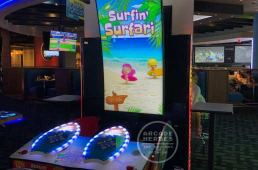 The Big Kahuna/Surfin' Surfari Videmption Surfing Game Spotted On Test
