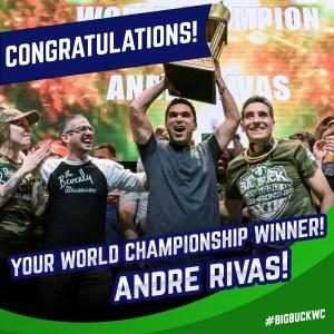 Big Buck Hunter 2019 World Champion Andre Rivas