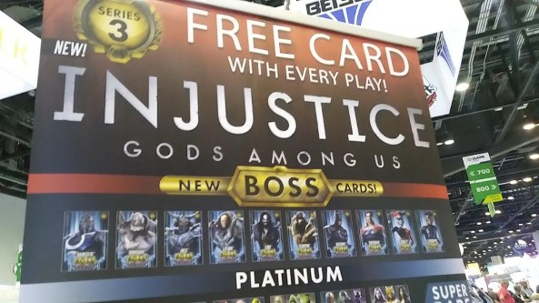 Injustice Arcade Series 3 cards - Boss Cards