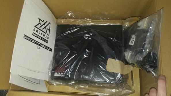 Exa-Arcadia EXA Board in the packaging