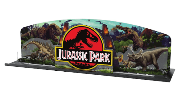 Overpriced & lame Jurassic Park Topper by Stern Pinball
