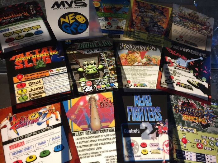 10 pack neo geo marquees