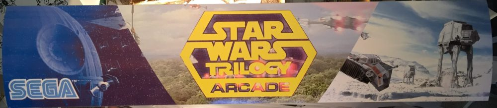 alternate marquee for star wars trilogy arcade marquee
