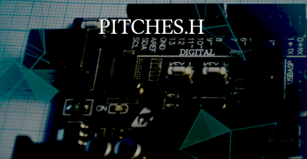 pitches.h