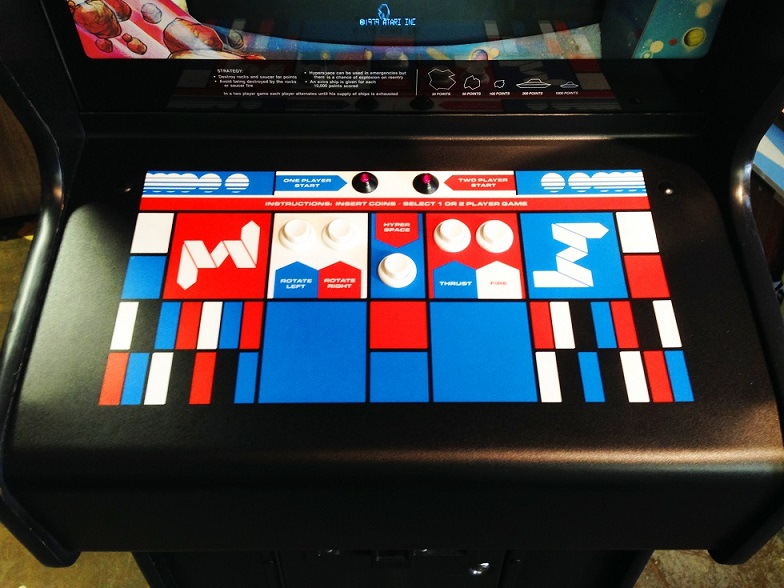 Asteroids Video Arcade Game for Sale  Arcade Specialties Game Rentals