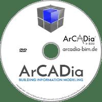 ArCADia BIM - Building Information Modeling 2D 3D CAD- DEMO DVD