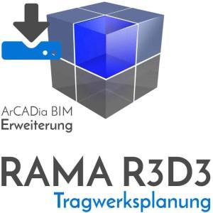 RAMA R3D3 - Tragwerksplanung Statikprogramm zur Berechnung und Bemessung von Stabwerken - Download