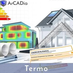 ArCADia Termo - Energieausweis und Wärmebedarfsberechnungen