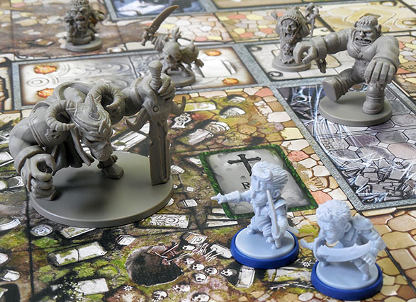 Beyond the Grave heroes & monsters miniatures